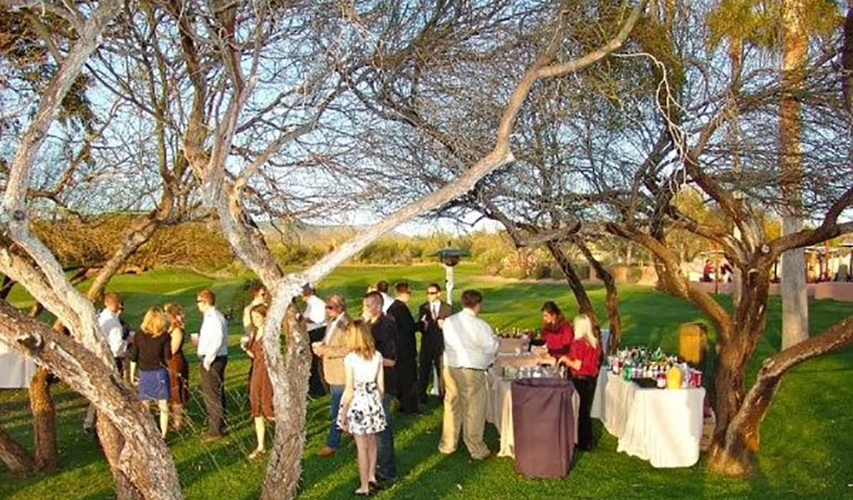 Tree Grove Wedding Reception